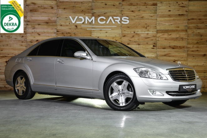 Mercedes Benz S600 Guard VR7
