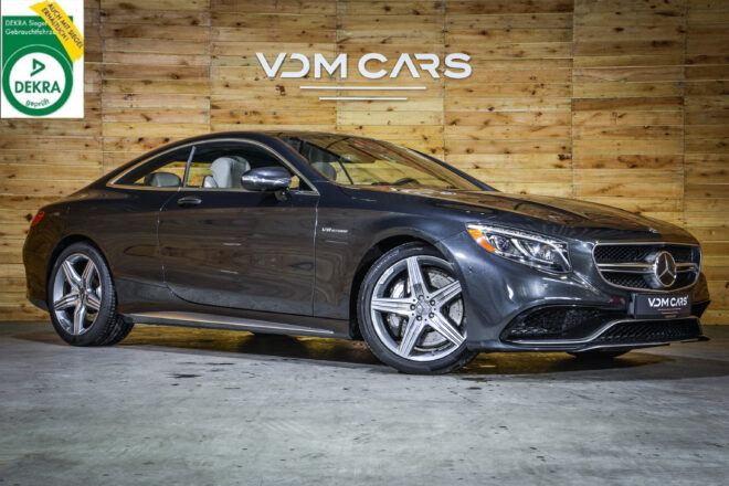 Mercedes Benz S63 AMG Coupé